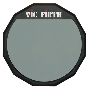 VIC FIRTH 12-INCH SINGLE-SIDED PRACTICE PAD PAD12