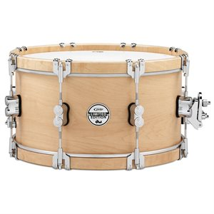 PACIFIC CONCEPT SERIES PDSX0714CLWH - 7X14 PDP LTD CLASSIC WOOD HOOP SNARE W/ CLAW HOOKS