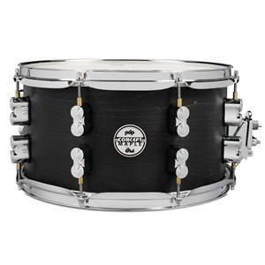 PACIFIC DRUMS PDSN0713BWCR 7X13 CONCEPT BLACK WAX CR HW