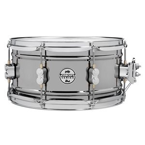 PACIFIC DRUMS PDSN6513BNCR CONCEPT 6.5X13 BN OVER STEEL CR HW