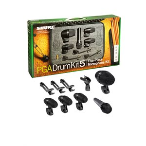 SHURE PGADRUMKIT5 DRUM MIC KIT