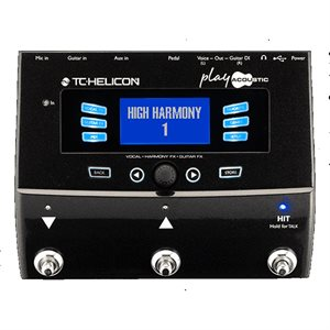 TC HELICON VOICE LIVE PLAY ACOUSTIC