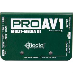 RADIAL ENGINEERING PROAV1 R800 1112 00