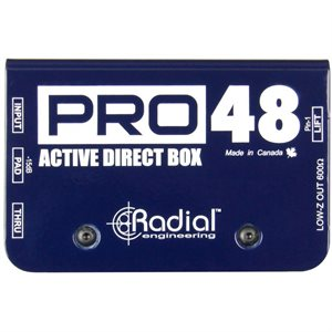 RADIAL ENGINEERING PRO48 ACTIVE DIRECT BOX R800 1105 00