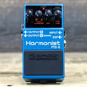 BOSS PS-6 HARMONIST FOUR EFFECT MODES PITCH-SHIFTER W/BOX #G0L6690