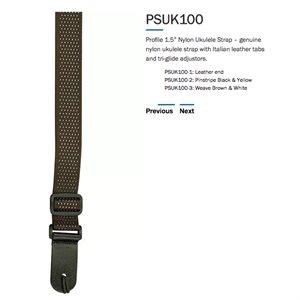 PROFILE PSUK100-2 UKE STRAP PINSTRIPE