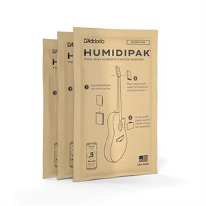 PLANET WAVES PW-HPRP-03 HUMIDIPAK MAINTAIN, 3-PACK REFILL