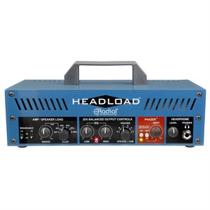 RADIAL ENGINEERING HEADLOAD V16 GUITAR AMP LOAD BOX R800 7056 00 (16-OHM)