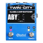 RADIAL ENGINEERING TWIN CITY R800 7115 00 ACTIVE AMP SWITCHER