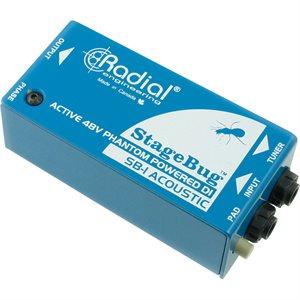 RADIAL ENGINEERING STAGEBUG SB-1 COMPACT ACTIVE DI R800 0110 00