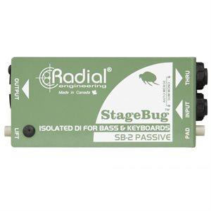 RADIAL ENGINEERING STAGEBUG SB-2 COMPACT PASSIVE DI R800 0120 00