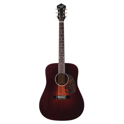 RECORDING KING RDS11FE3TBR SERIES 11 ALL SOLID DREADNOUGHT AVEC PICKUP FISHMAN