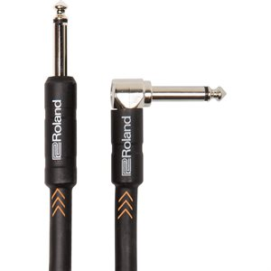 ROLAND RIC-B5A STRAIGHT TO RIGHT-ANGLE 1/4-INCH CONNECTORS, 5 FT./1.5 M