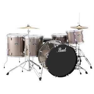 PEARL RS525WFCC706 ROADSHOW 5 MORCEAUX CHARCOAL METALLIC (2216BD, 1209T, 1414FT, 1616FT, 1465SD)