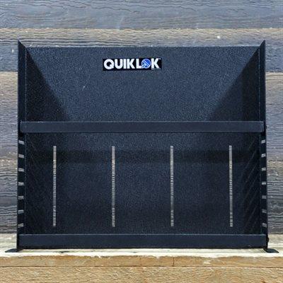 QUIKLOK RS-672 SHELF RACK STANDARD 19 2-SPACE RACK SHELF WITH 2 LOCKING BRACES