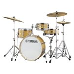 YAMAHA STAGE CUSTOM HIP SBP0F4H-NW 4-PIECE SHELL KIT, NATURAL WOOD (2008BD, 1005T, 1308FT, 1305SD)