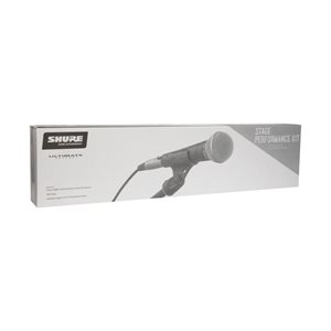 SHURE SM58-CN BTS STAGE PERFORMANCE KIT (MICROPHONE, CABLE ET SUPPORT)
