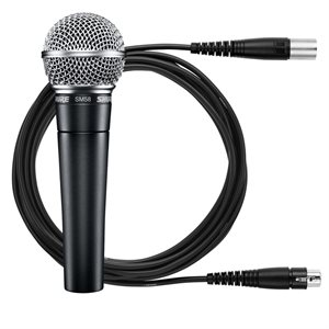 SHURE SM58-LC WITH XLR 25-FOOT CABLE