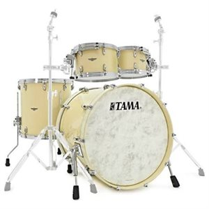 TAMA TW42RZS-ATW STAR WALNUT 4-PIECE ANTIQUE WHITE (2216BD, 1007T, 1208T, 1616FT)