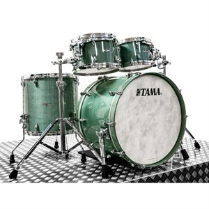 TAMA TW42RZS-SBU STAR WALNUT 4-PIECE SMOKY BLUE MIST (2216BD, 1007T, 1208T, 1616FT)