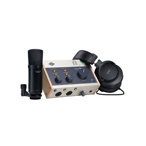 UNIVERSAL AUDIO VOLT 276 STUDIO PACK 2-IN/2-OUT USB 2.0 AUDIO INTERFACE WITH PRO AUDIO CONVERSION