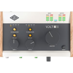 UNIVERSAL AUDIO VOLT 276 DESKTOP 2-IN/2-OUT USB 2.0 AUDIO INTERFACE WITH PROFESSIONAL AUDIO CONVERSION