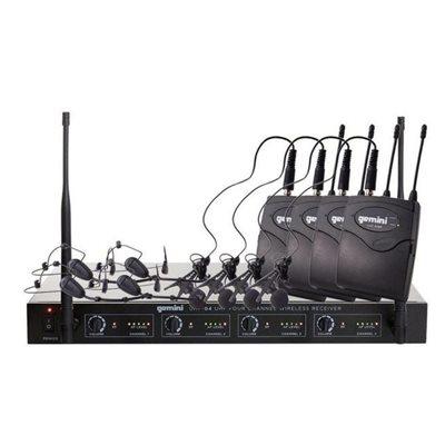 GEMINI UHF-04HL-S1234 HEADSET 4-CHAN 500-950MHZ