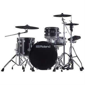 ROLAND VAD503 V-DRUMS ACOUSTIC DESIGN STREAMLINED KIT WITH FULL-SIZE WOODEN SHELLS AND DYNAMIC TD-27 DRUM MODULE