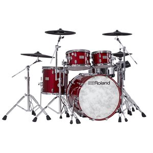ROLAND VAD706-GC GLOSS CHERRY V-DRUMS ACOUSTIC DESIGN THE PERFECT FUSION OF ACOUSTIC AND ELECTRONIC DRUMS