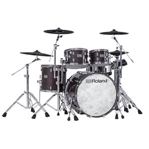 ROLAND VAD706-GE GLOSS EBONY V-DRUMS ACOUSTIC DESIGN THE PERFECT FUSION OF ACOUSTIC AND ELECTRONIC DRUMS