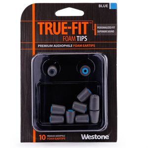 WESTONE 62803 EMBOUT BLUE (10 PAQ)
