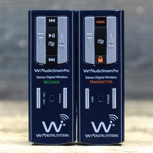 WI AUDIOSTREAM PRO SL DIGITAL WIRELESS STEREO LAVALIER & AUDIO MONITORING SYSTEM W/BOX #14CH052020030