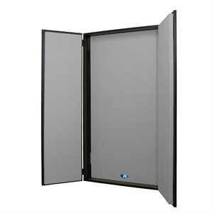 PRIMACOUSTIC Z840-1130-08 FLEXIBOOTH INSTANT VOCAL BOOTH GRAY 24X48