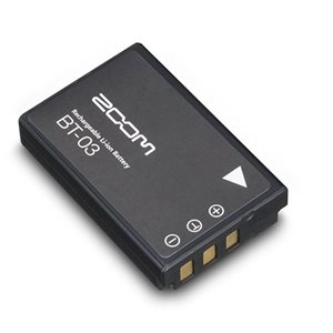 ZOOM BT-03 RECHARGABLE BATTERY FOR Q8 CAMERA