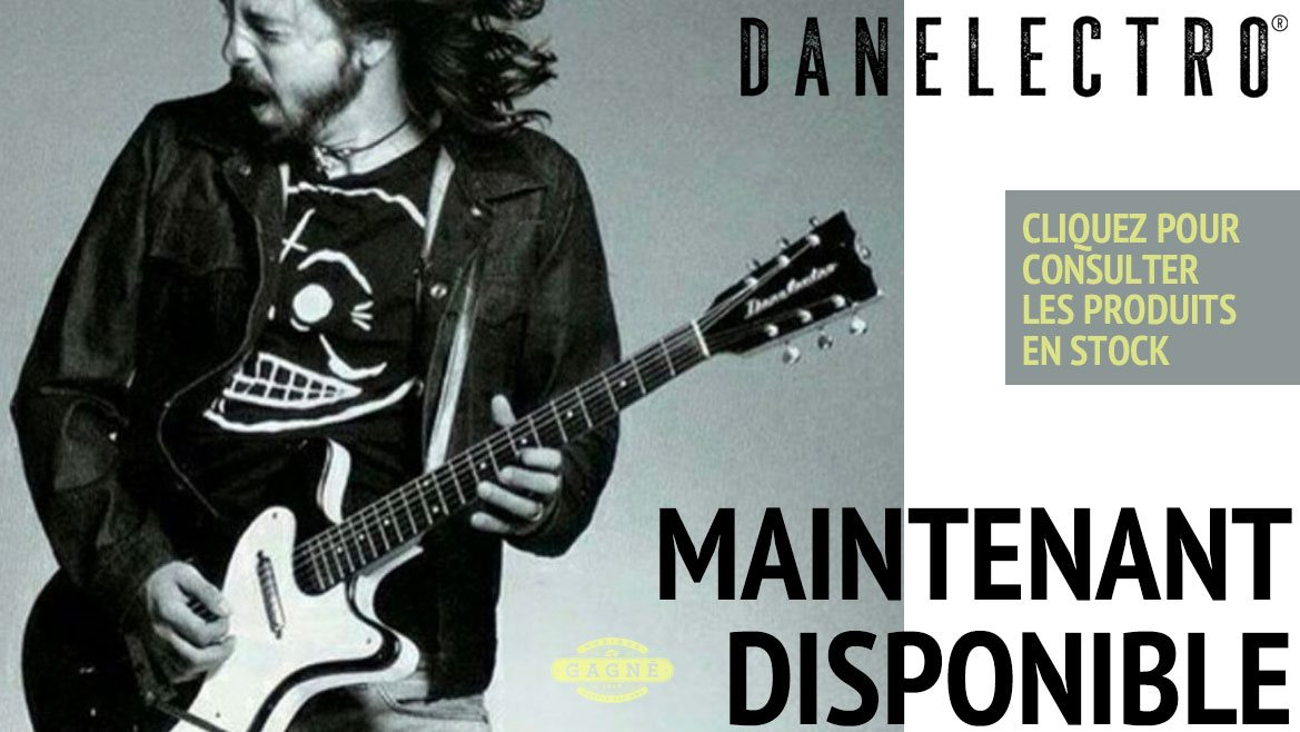 DANELECTRO Maintenant disponible