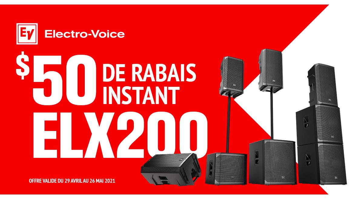Promo Electro-Voice ELX200